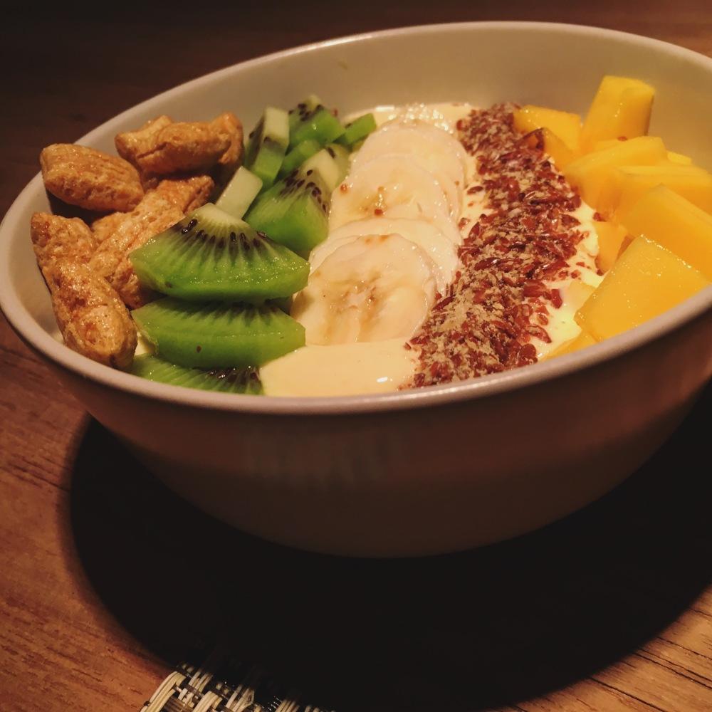 Mango lassi variation